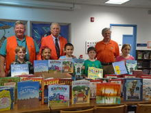 Kiwanis Donate 100 Books!