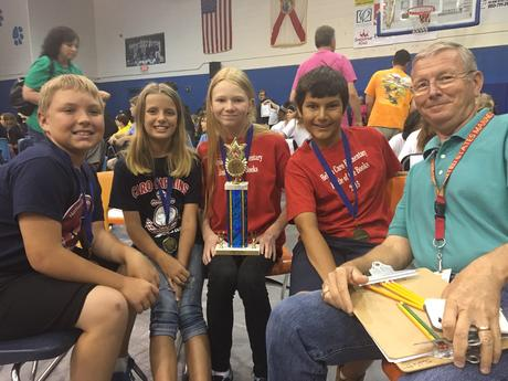 Battle of the Books 2016 Champs!